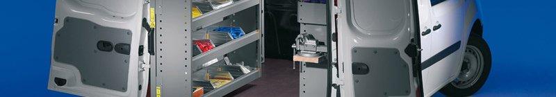 Instalare accesorii rafturi pentru autovehicule comerciale